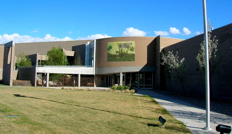 The Utah Field House of Natural History State Park Museum