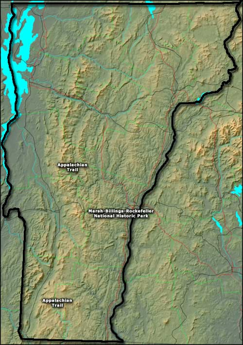 National Park Service Sites in Vermont