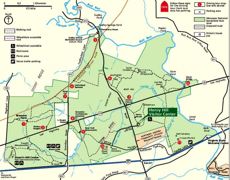 Manassas National Battlefield Park  Virginia National Park