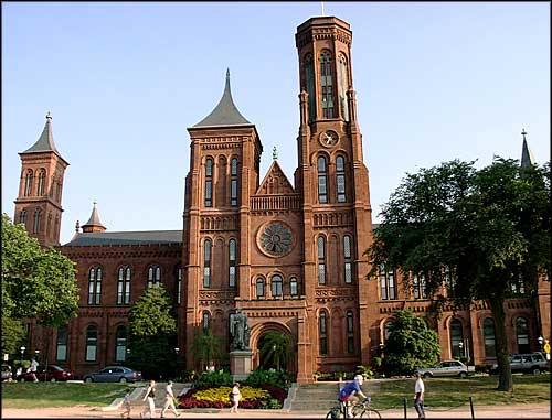 Smithsonian Castle, headquarters of the Smithsonian Institution