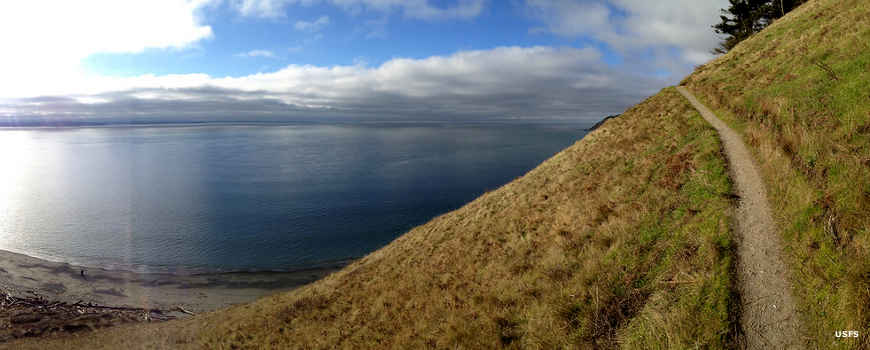 Ebey's Landing on the Pacific Northwest Trail