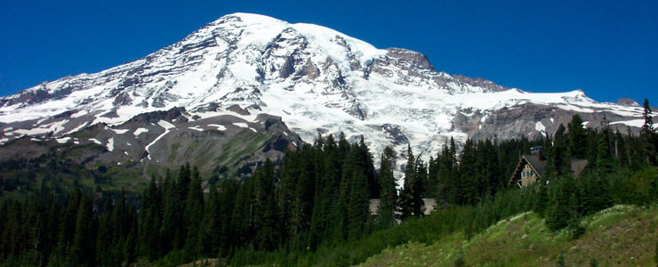 Mount Rainier from the Paradise area