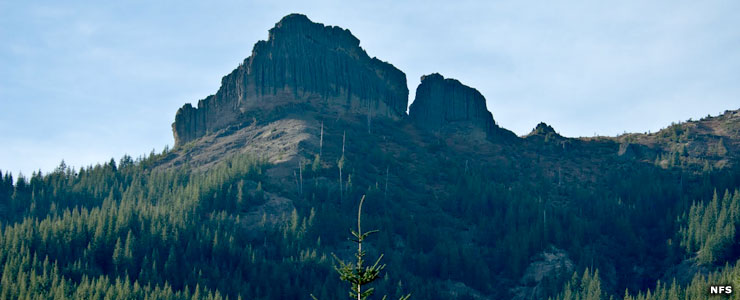 Tatoosh Ridge in Tatoosh Wilderness