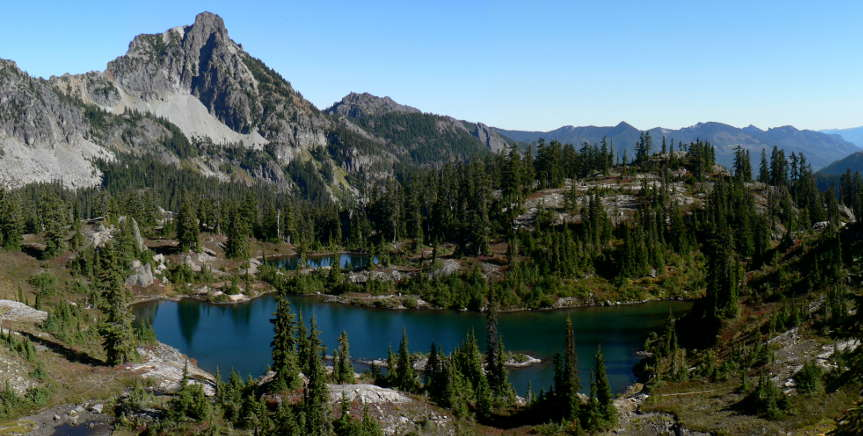 In the Alpine Lakes Wilderness