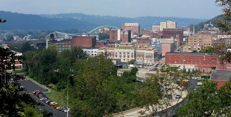 Downtown Wheeling