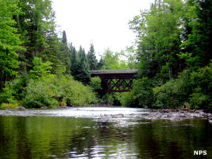 Along the Namekagon River