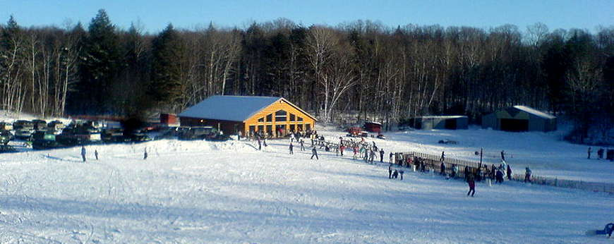 Kettlebowl Ski Area in Langlade County, Wisconsin