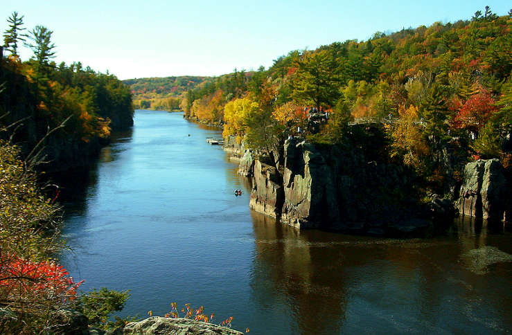 The Dalles of the St. Croix River