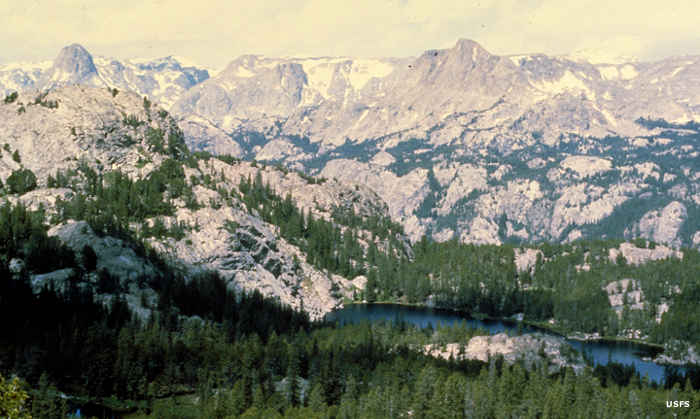 Shoshone National Forest: the Wind River Range