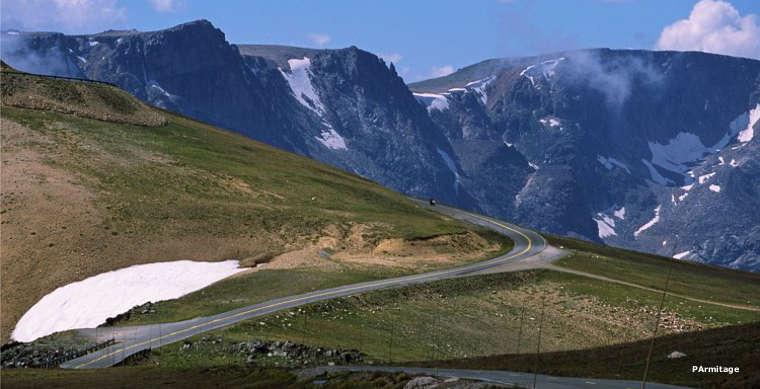 Coming to Beartooth Pass