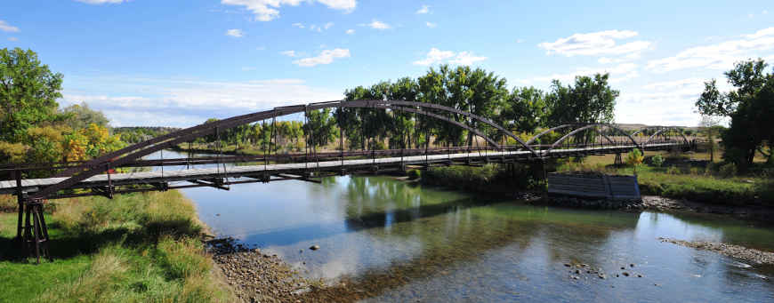 The Iron Bridge at Fort Laramie National Historic Site