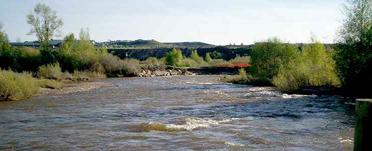 The Bear River at Bear River State Park