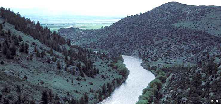 The North Platte River in Platte River Wilderness