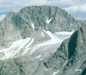 Gannett Peak, in the Fitzpatrick Wilderness