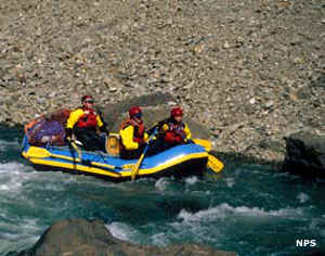 Rafting on the Aniakchak River, Aniakchak National Monument
