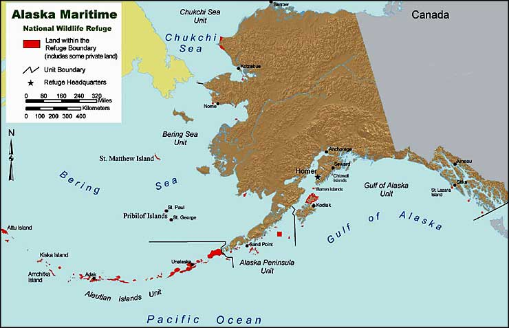 Bluff Alaska Map.Alaska Maritime National Wildlife Refuge Alaska National Wildlife