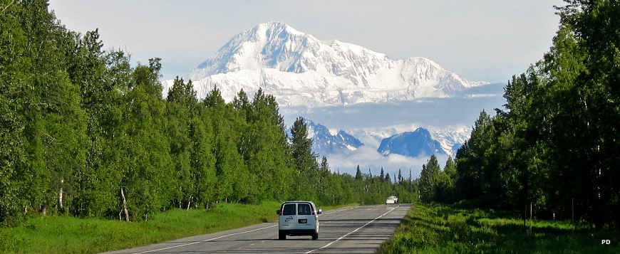 Denali from the George Parks Highway