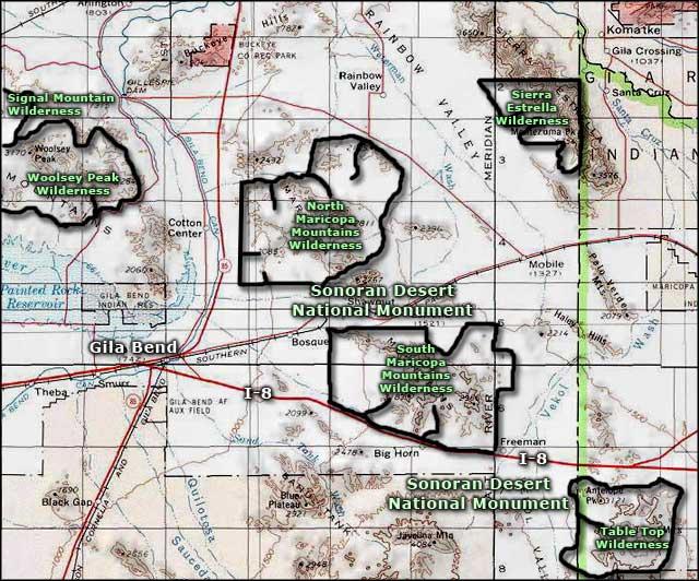 Sierra Estrella Wilderness | BLM Sites in Arizona