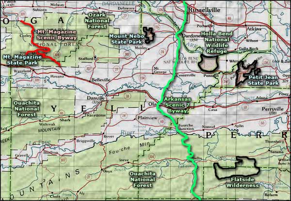 State Parks In Arkansas Map.Mount Magazine State Park Arkansas State Parks