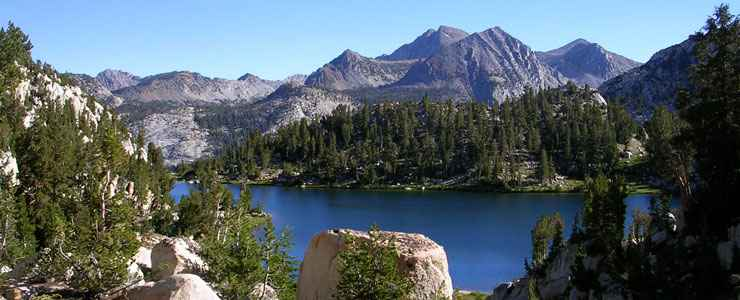 Lake of the Lone Indian in John Muir Wilderness