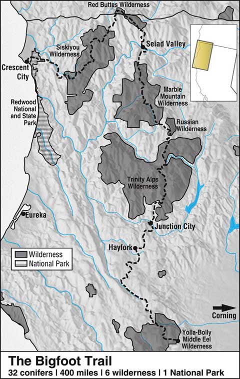 Trinity Alps Wilderness   California National Wilderness Areas