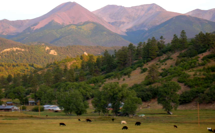 Culebra Peak, Sangre de Cristo Mountains