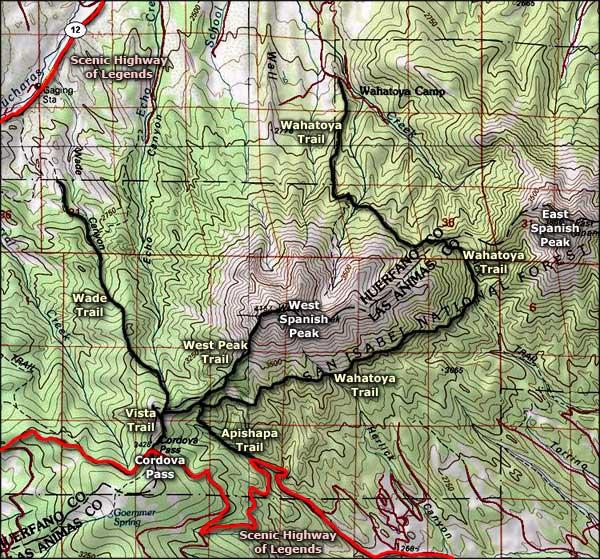 Spanish Peaks Wilderness | National Wilderness Areas