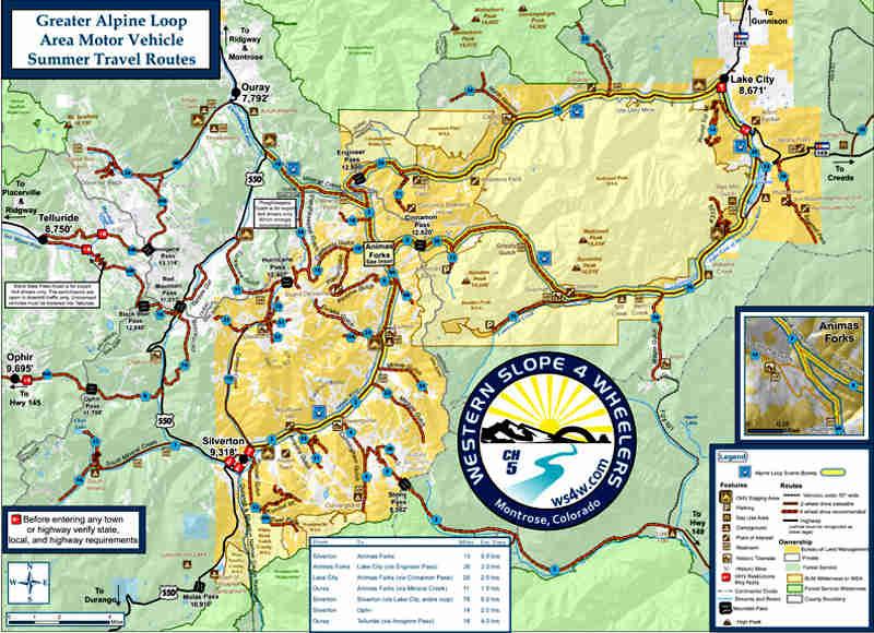 Alpine Loop Backcountry Byway | Colorado Scenic Byways