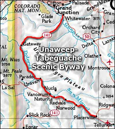 Unaweep-Tabeguache Scenic Byway | Colorado Scenic Byways