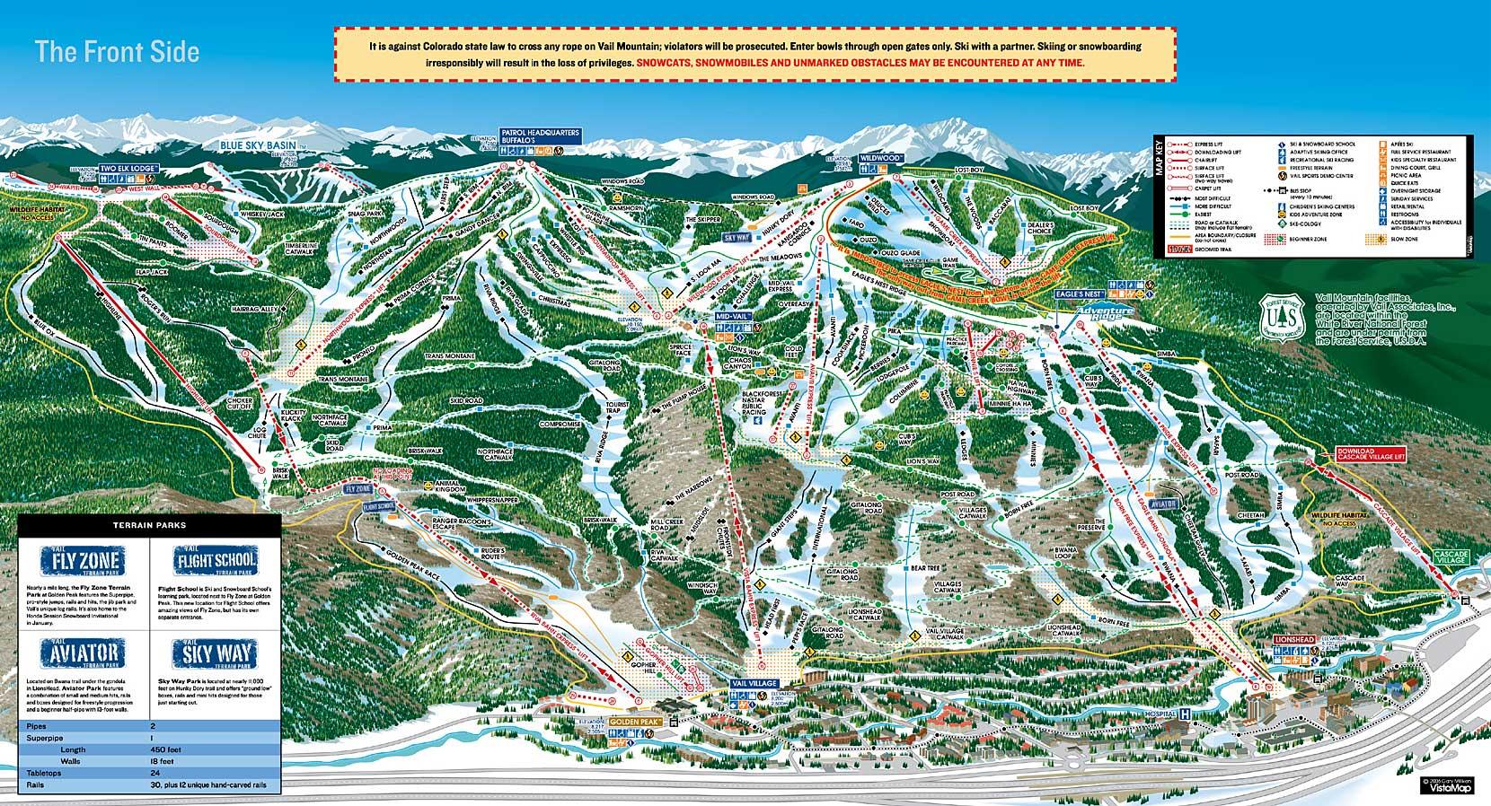 vail ski resort | colorado ski and snowboard areas