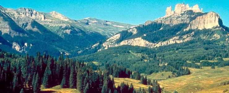 west elk wilderness national wilderness areas