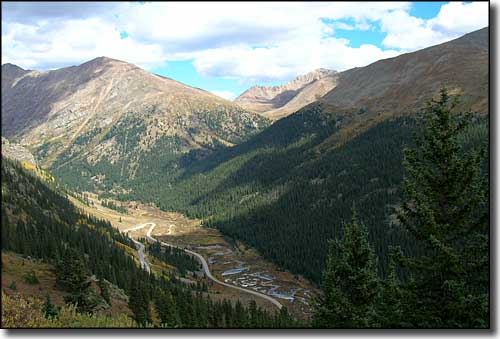 Independence Pass, Top of the Rockies Scenic Byway, Colorado