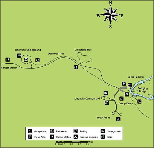 Florida State Parks Camping Map.O Leno State Park Florida State Parks