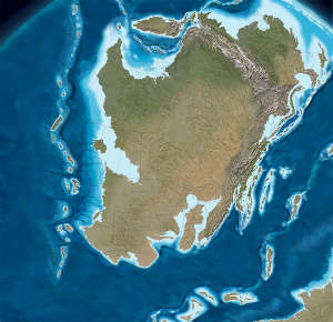 North America in the early Devonian