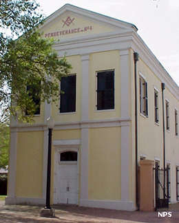 Perseverance Hall at New Orleans Jazz National Historical Park