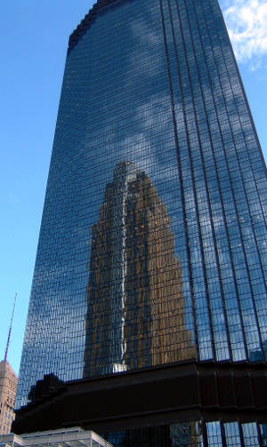 The IDS Tower in Minneapolis