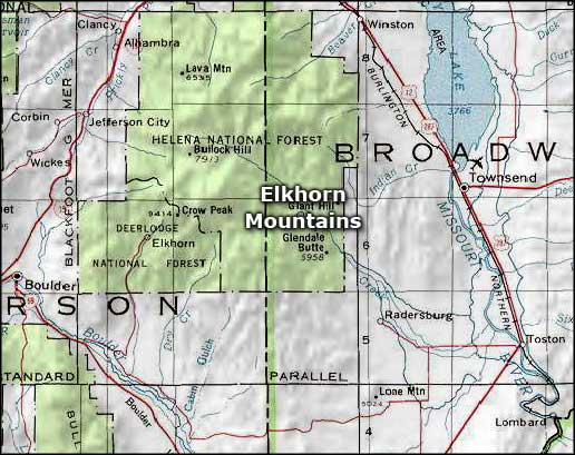 Elkhorn Mountains | The Sights and Sites of America