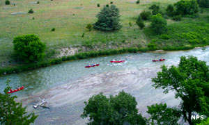 Rapids on the Niobrara River