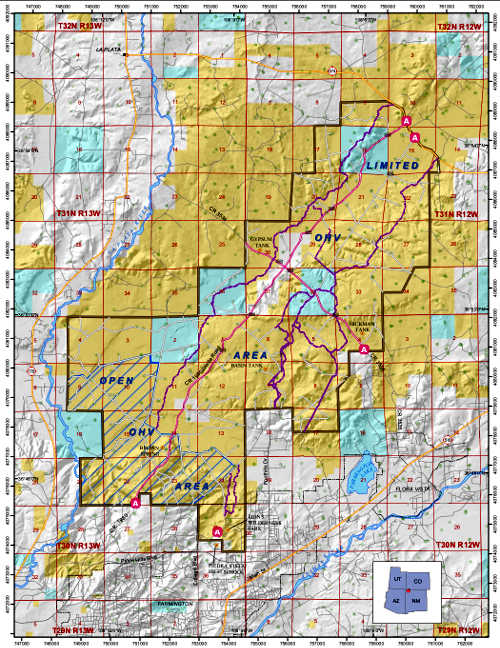 New Mexico Permit >> Glade Run Recreation Area   The Sights and Sites of America