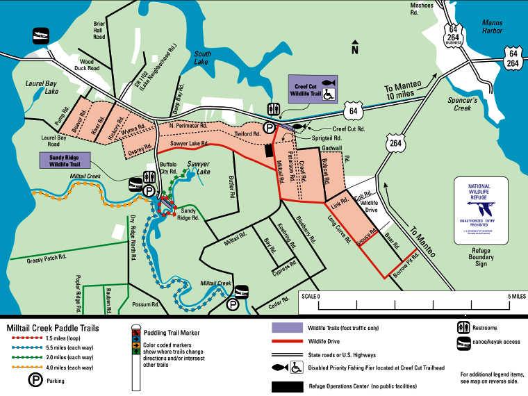 Alligator River National Wildlife Refuge The Sights And Sites Of