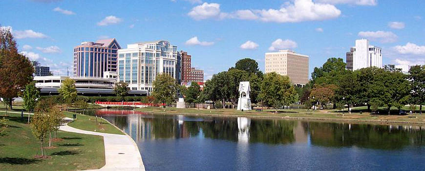 A view of the Huntsville skyline