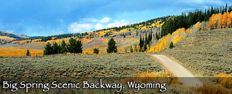 Big Spring Scenic Backway, Wyoming