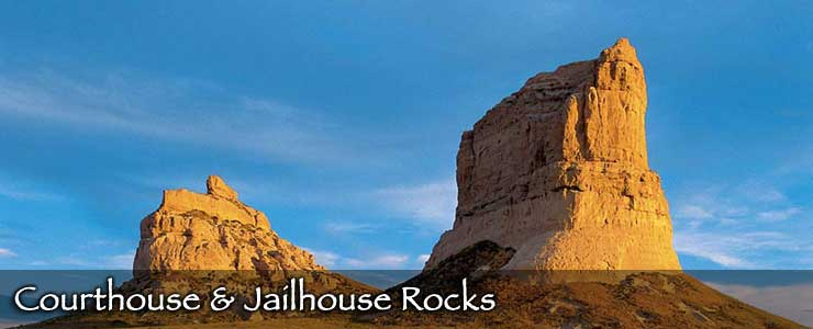 Courthouse and Jailhouse Rocks