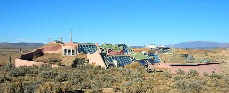 Earthships near Taos