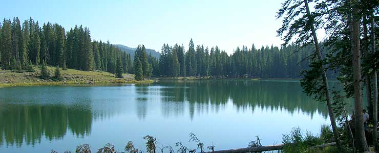 Island Lake on Grand Mesa