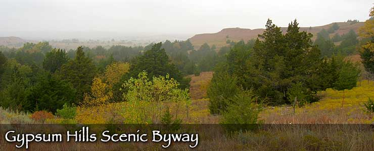 Gypsum Hills Scenic Byway