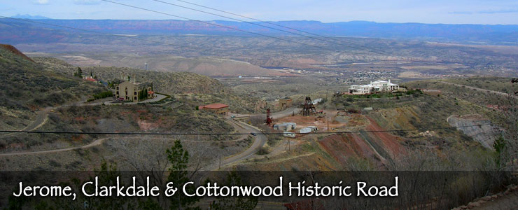 Jerome, Clarkdale and Cottonwood Historic Road