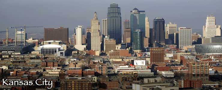 The Kansas City skyline