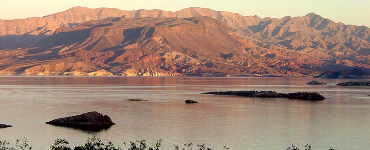 Sunset Point at Lake Mead