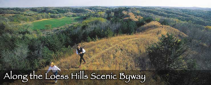 Along the Loess Hills Scenic Byway